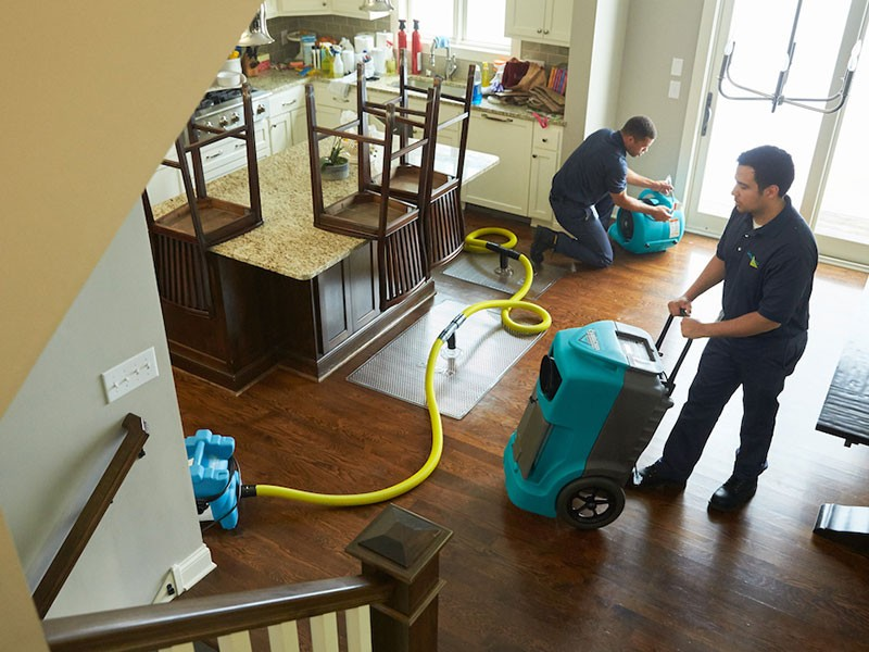 Residential Water Damage Service The Woodlands TX