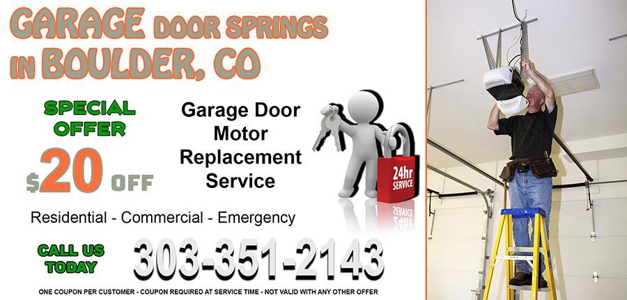 Garage Door Springs Boulder