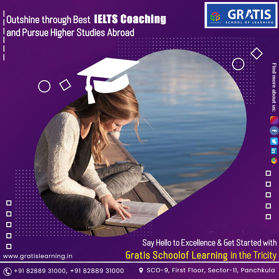 IELTS Institute in Panchkula / IELTS Coaching Classes in Panchkula