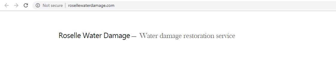 Service Restoration Inc