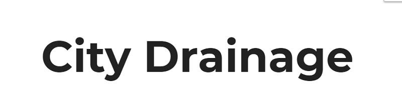 City Drainage