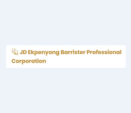 JD Ekpenyong Barrister Professional Corporation
