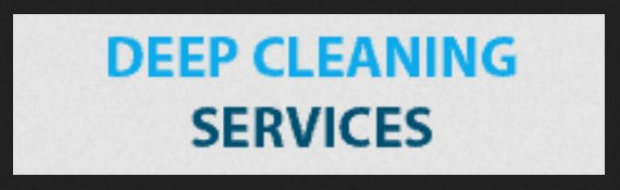 Deep Cleaning Services UK