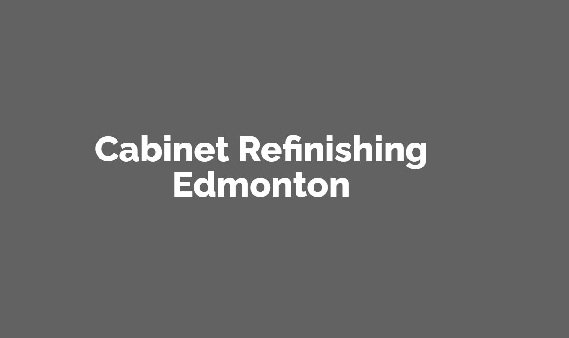 Cabinet Refinishing Edmonton