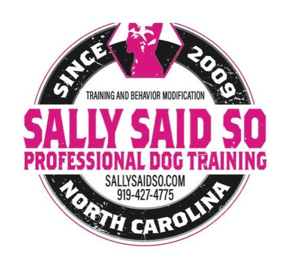Sally Said So Professional Dog Trainer