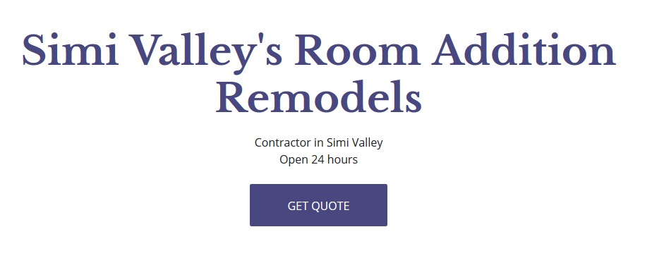 Simi Valley's Room Addition Remodels