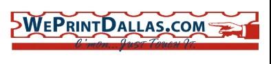 We Print Dallas