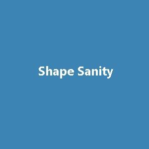Shape Sanity