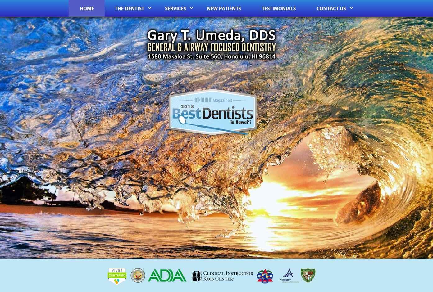 Gary T. Umeda Dentistry - General & Airway Focused Dentistry